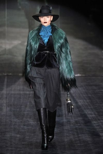 Pokaz damskiej kolekcji Gucci na sezon jesień-zima 2011/12