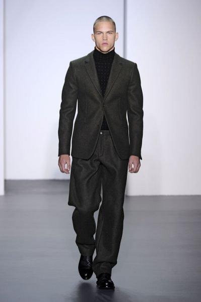 Pokaz męskiej kolekcji Calvin Klein jesień zima 2011