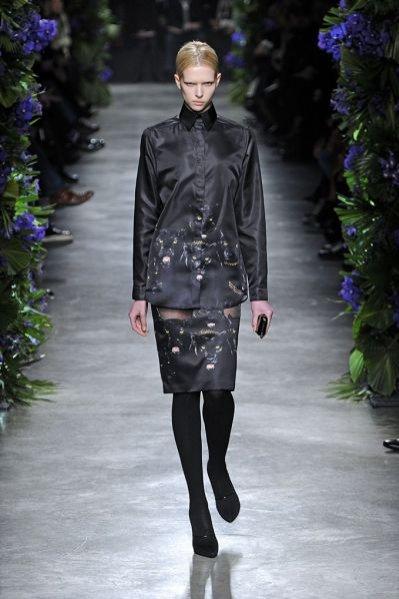 Pokaz kolekcji Givenchy jesień-zima 2011/12