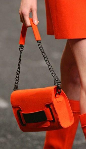 trendy jesień zima 2011 - mini torebka z kolekcji Blumarine