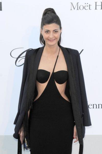 Giovanna Battalgia na festiwalu w Cannes