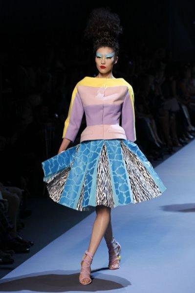 Pokaz kolekcji Dior haute couture jesień-zima 2011/12