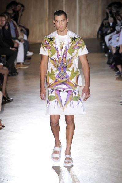 Pokaz męskiej kolekcji Givenchy wiosna lato 2012