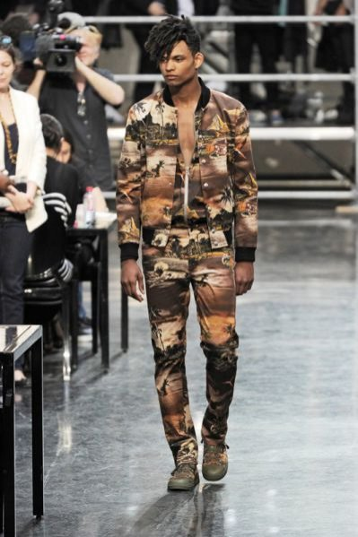 Pokaz męskiej kolekcji Jean Paul Gaultier wiosna lato 2012