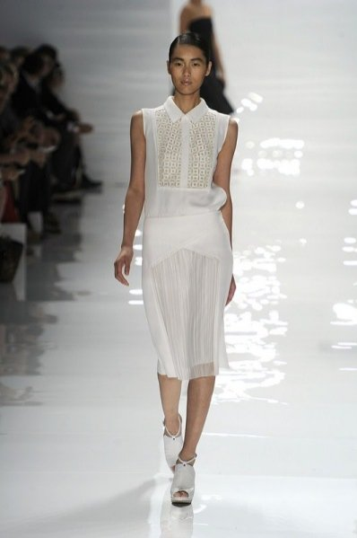 trendy wiosna lato 2012 - pokaz Derek Lam