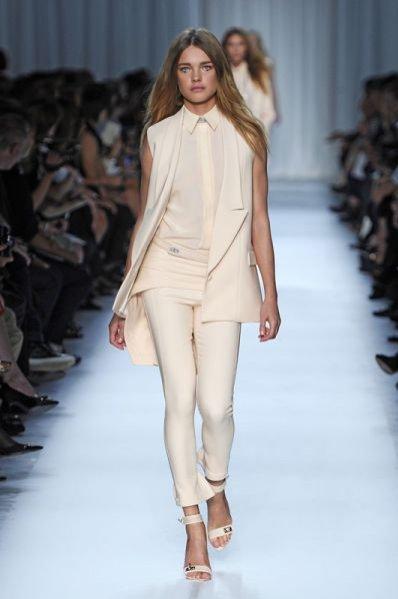Pokaz kolekcji Givenchy wiosna lato 2012