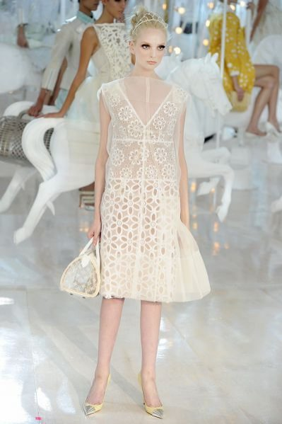 Pokaz kolekcji Louis Vuitton wiosna lato 2012