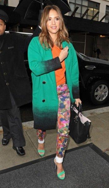 Jessica Alba w Nowym Jorku