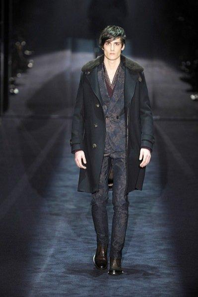 Pokaz męskiej kolekcji Gucci jesien zima 2012/13