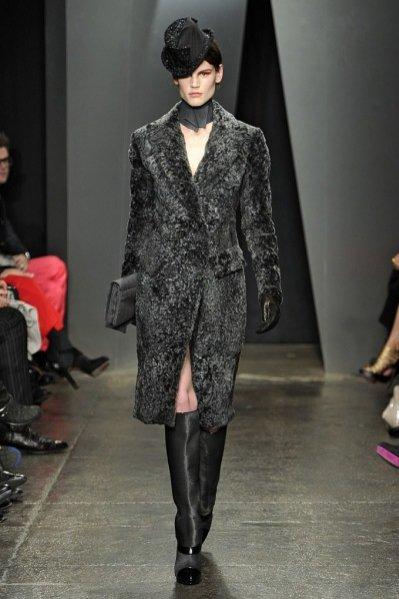 Saskia de Brauw na pokazie Donna Karan jesień zima 2012/13