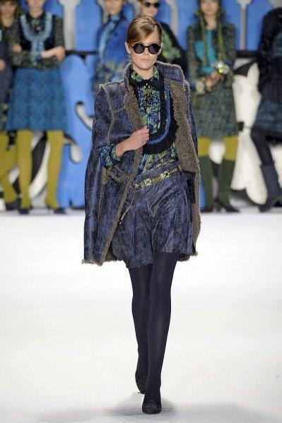 Pokaz kolekcji Anna Sui jesień zima 2012/13