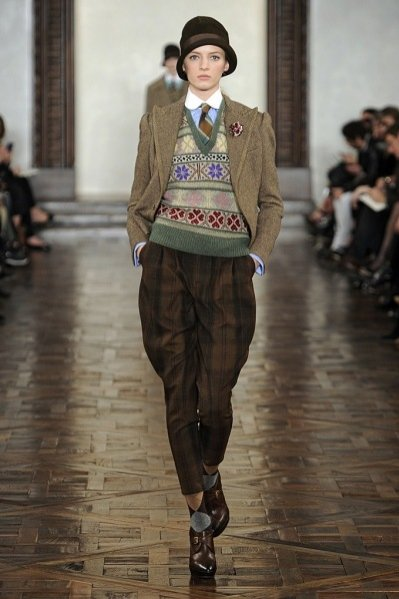 Pokaz kolekcji Ralph Lauren jesień zima 2012/13