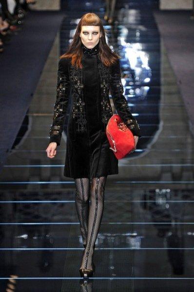 Pokaz kolekcji Versace jesień zima 2012/13