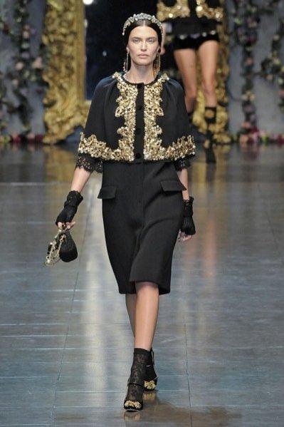Dolce&Gabbana jesień zima 2012