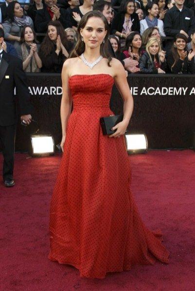 Natalie Portman w sukni Dior'a na gali wręczenia Oscarów