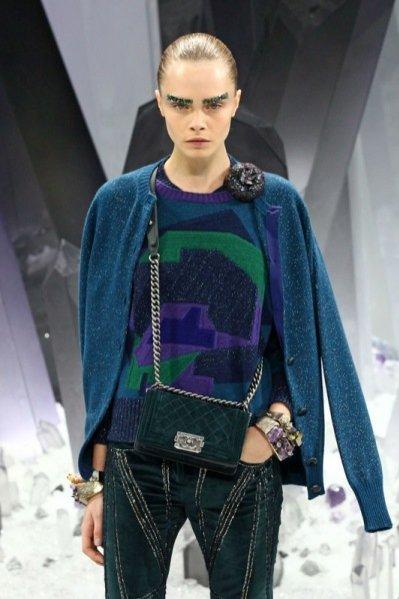 Pokaz kolekcji Chanel jesień zima 2012