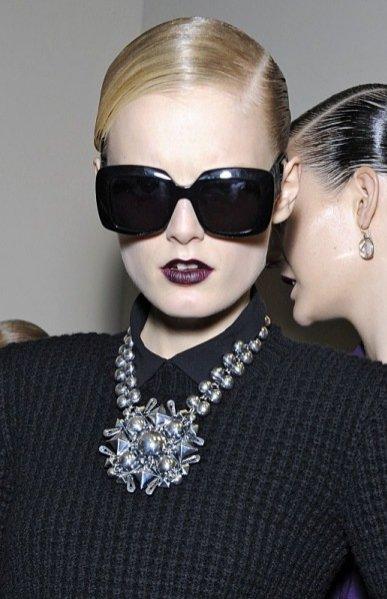 Trendy w makijażu jesień zima 2012/12 - backstage pokazu Bottega Veneta