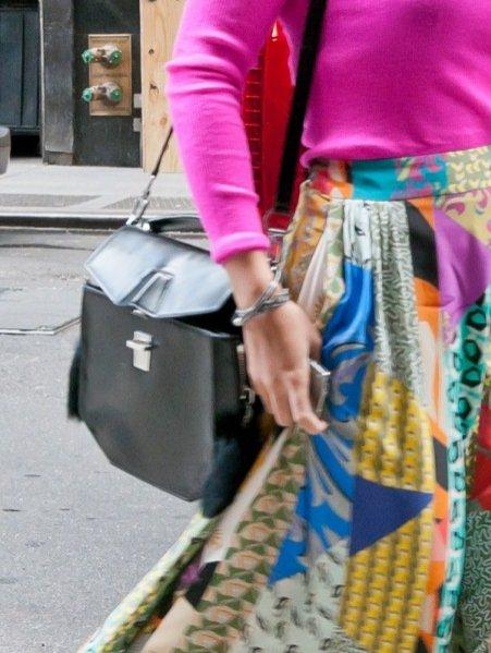 maksi kolorowa stylizacja Beyoncé