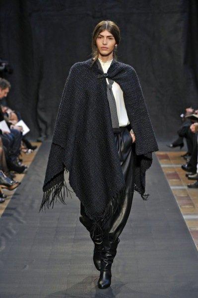 Pokaz damskiej kolekcji Hermès jesień zima 2012/13