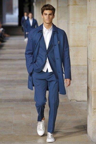 Pokaz męskiej kolekcji Hermès wiosna lato 2013