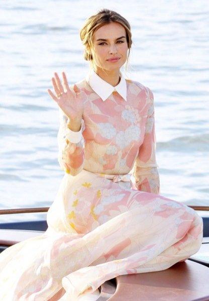 Kasia Smutniak na Festiwalu Filmowym w Wenecji