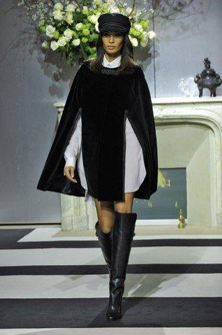 pokaz H&M jesień zima 2013/2014 podczas Paris Fashion Week