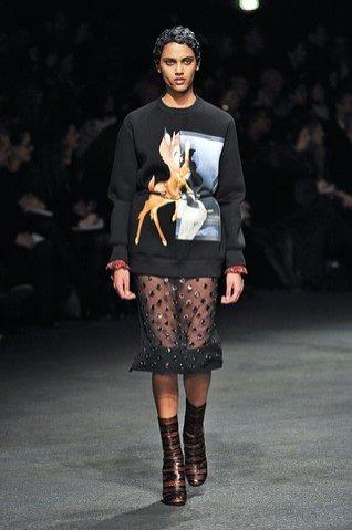 Givenchy pokaz kolekcji jesień zima 2013/2014
