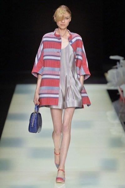 1. Giorgio Armani - kolekcja wiosna lato 2016
