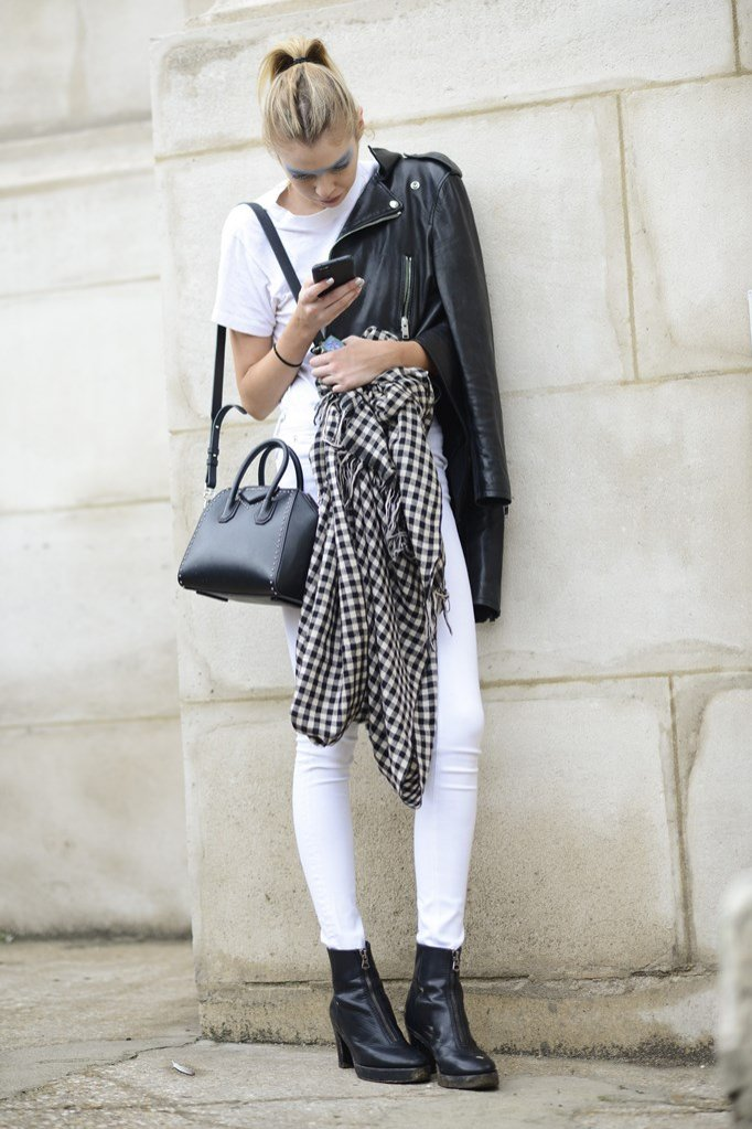 Stylizacja z torebką Givenchy
