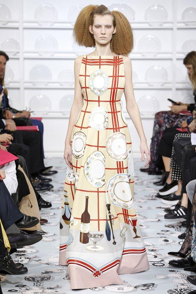 1. Kolekcja Schiaparelli haute couture wiosna 2016
