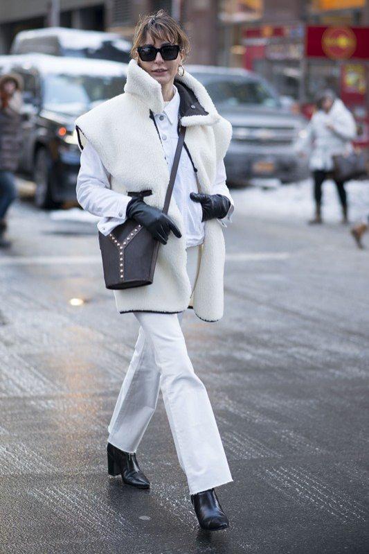 Street Style, Nowy Jork, zima 2017/18