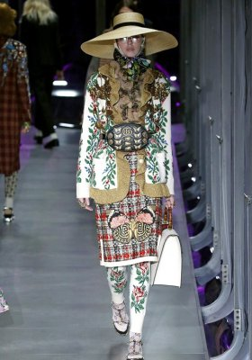 GUCCI READY-TO-WEAR JESIEŃ ZIMA 2017