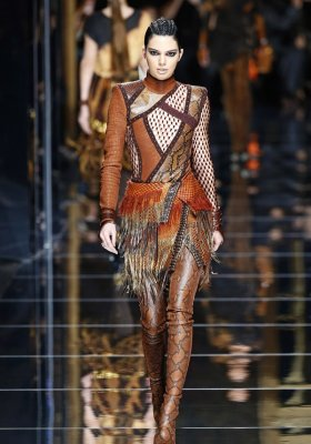 BALMAIN READY-TO-WEAR JESIEŃ ZIMA 2017