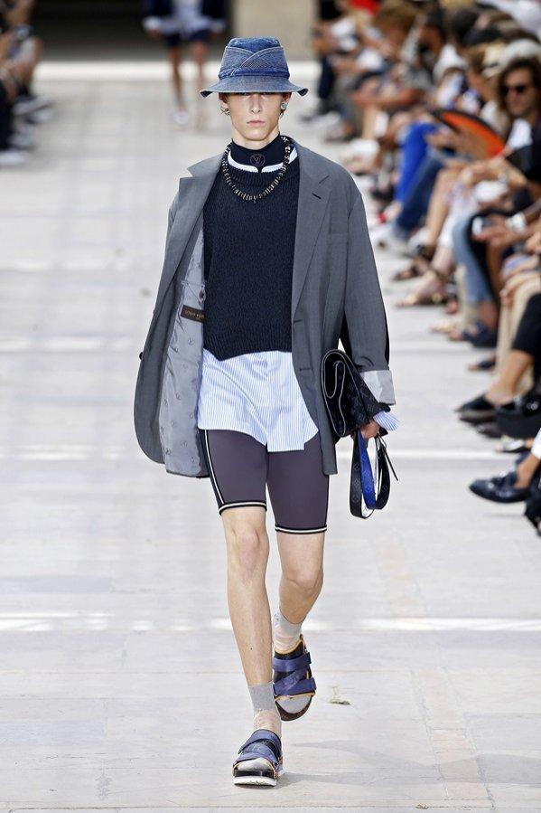 Louis Vuitton wiosna lato 2018 - pokaz kolekcji męskiej (1)