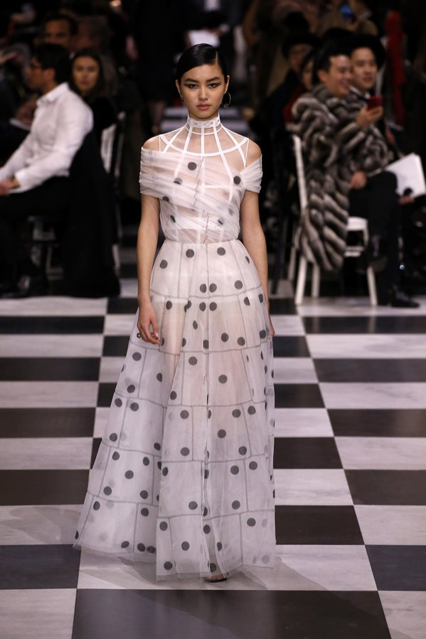 Haute Couture wiosna lato 2018 - Christian Dior (1)