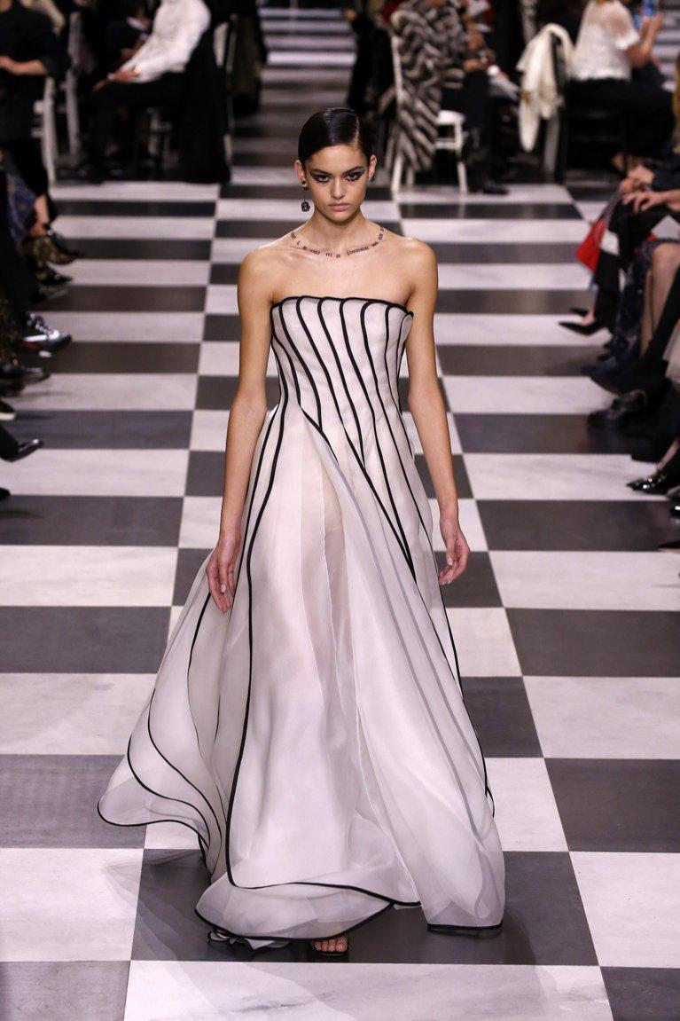 Dior haute couture wiosna lato 2018