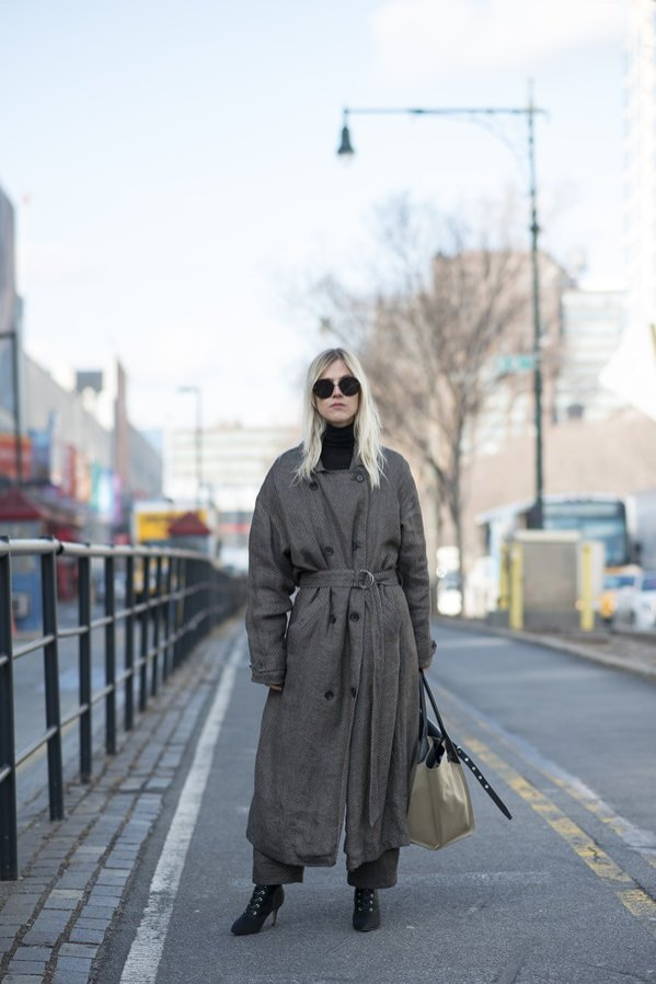 Moda uliczna - najlepsze stylizacje z New York Fashion Week jesień zima 2018/19 (1)
