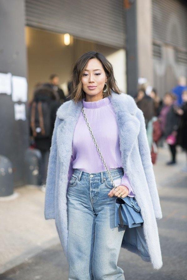 Krótkie fryzury z mody ulicznej