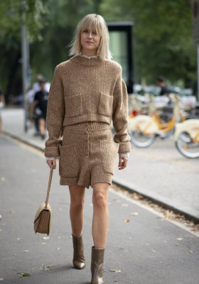 NUDE TOTAL LOOK – MODA ULICZNA TRENDY 2019