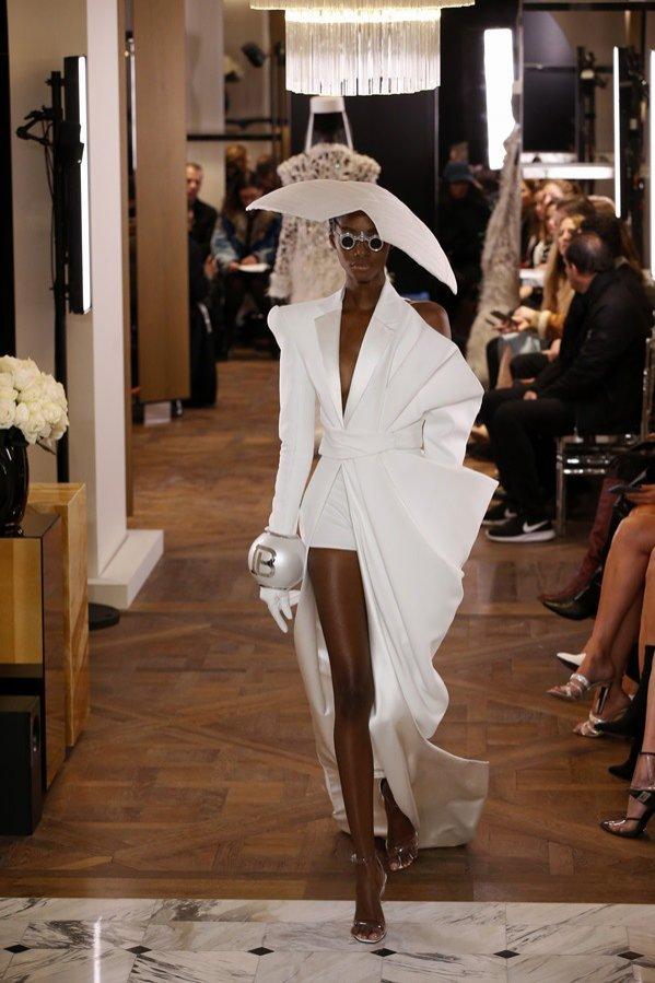 Balmain - haute couture wiosna lato 2019 (1)