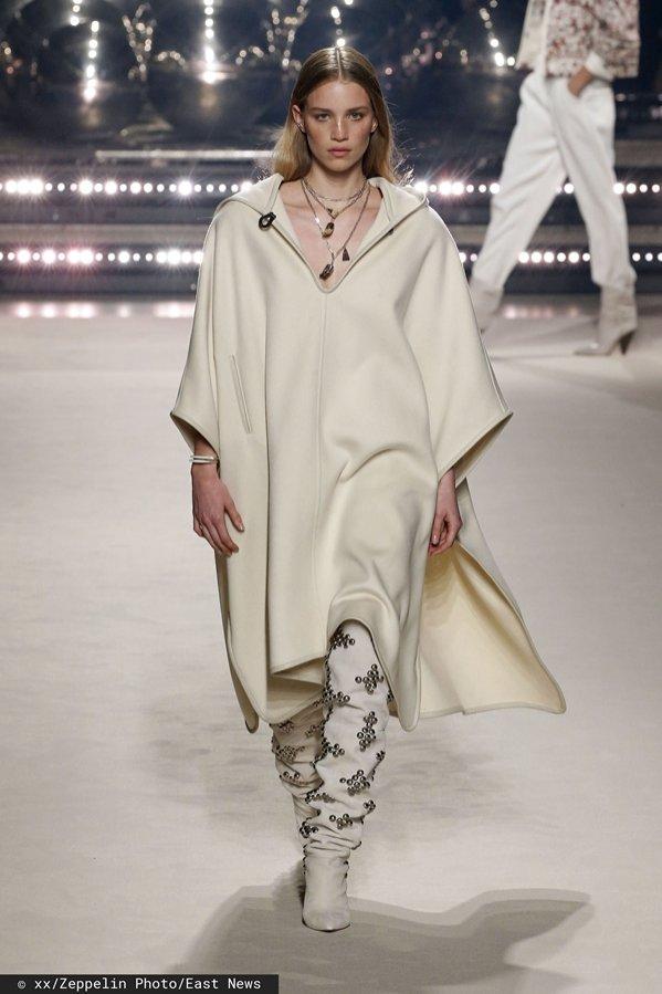 Isabel Marant pokaz mody jesień zima 2020/21 (1)