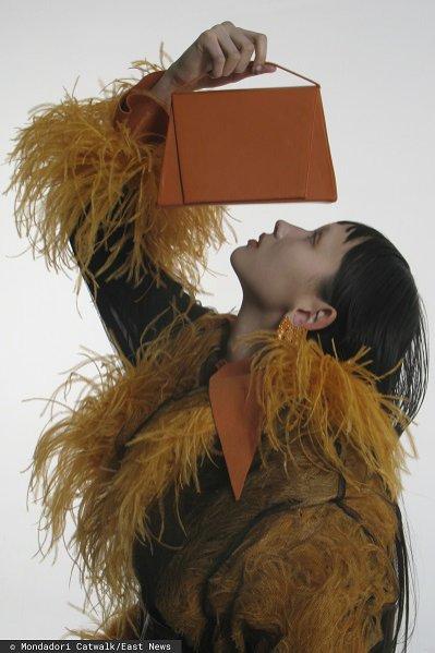 Pomarańczowa torebka, 16Arlington