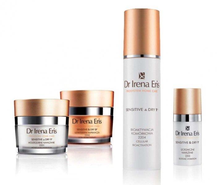 zestaw kosmetyków do pielęgnacji Dr Irena Eris Prosystem Home Care Sensitive & Dry