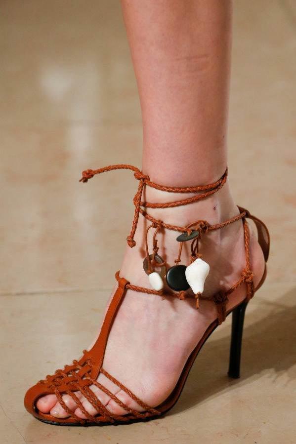 Buty w stylu podróżniczki, Altuzarra SS19