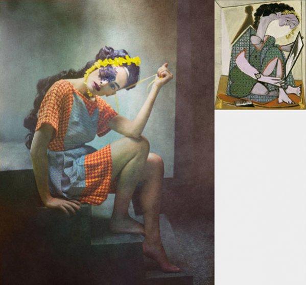 Zdjęcia Eugenio Recuenco inspirowane twórczością Pablo Picasso
