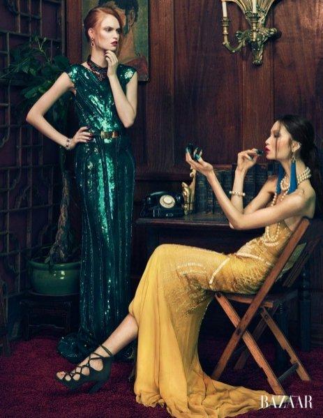 Sesja Evening elegance w Harper's Bazaar Vietnam