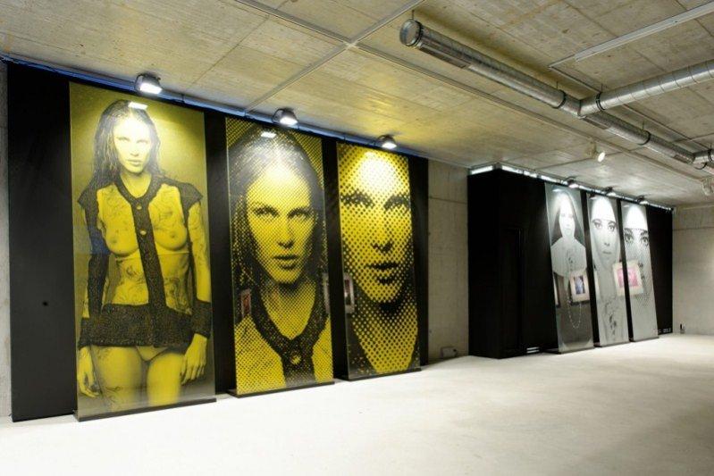 "wystawa Karla Lagerfelda ""Fire Etchings"""