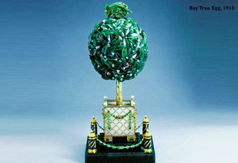 Bay-Tree Fabergé Egg