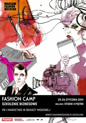 WARSZTATY FASHION CAMP – PR I MARKETING W BRANŻY MODY