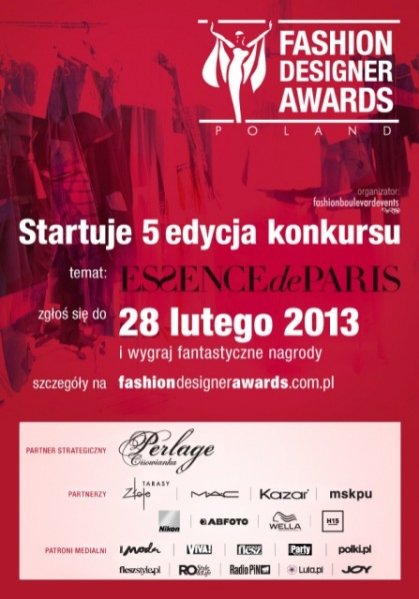 5 edycja konkursu Fashion Designer Awards